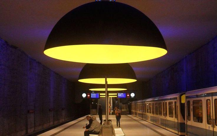 Najpiękniejsze metra świata… / The most beautiful metro stations in the world…