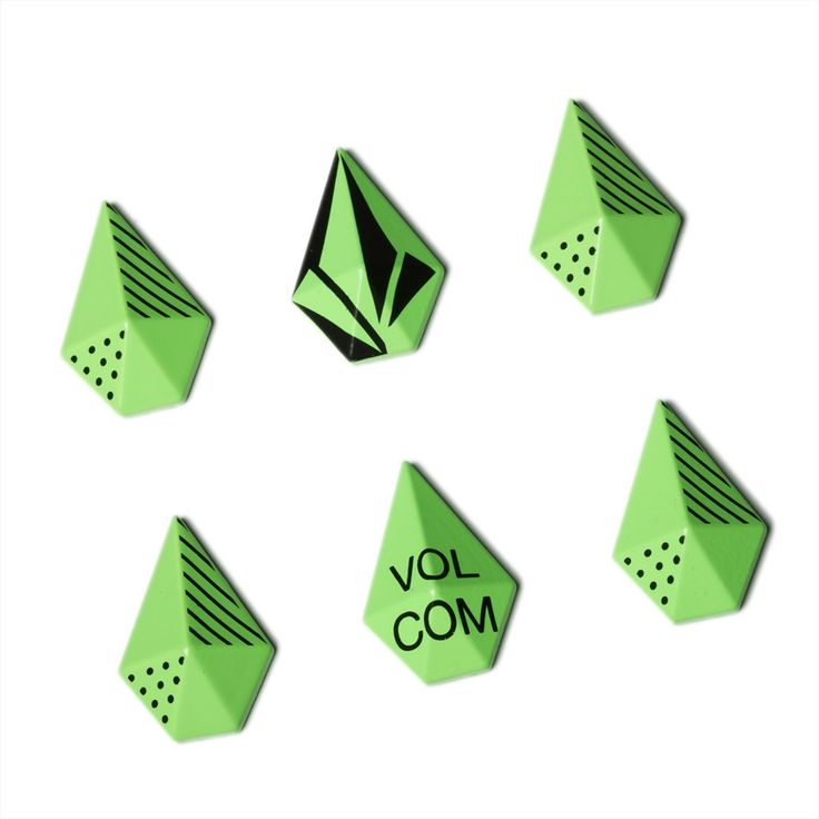 Volcom STONE STUDS Stomp Pad, Electric Green