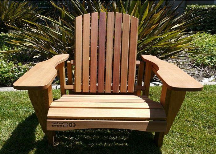 Fantastic Cedar Adirondack Chairs ~ http://lanewstalk.com/the-rustic-adirondack-chair/