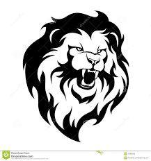 Resultado de imagen para silueta cara leon