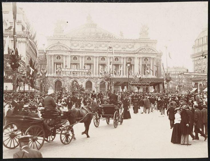 Le 5 janvier 1875 était inauguré l'Opéra Garnier à Paris.