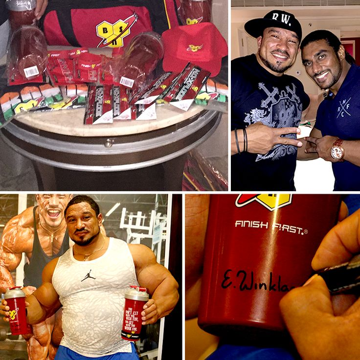 """Participate in our """"Being Fit"""" contest and tell us how fitness defines your life by posting your answers/photos in the comments on FACEBOOK using #TrueRoellyFan & #BSNArmy.  We are giving out some crazy prizes including Shakers, T-shirts, Wrist Bands, BSN samples & much more to all true fitness lovers. #TeamBSN #SangramRocks"""