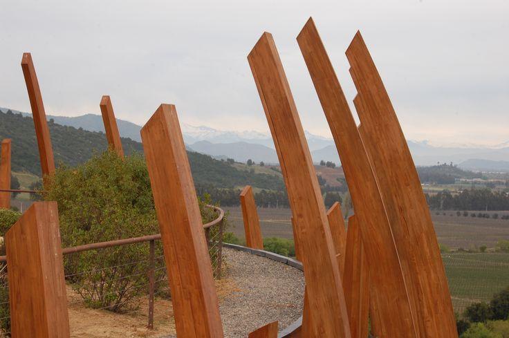 Views from Casa La Apostolle- Colchagua Valley Eureka Travel #SouthAmerica