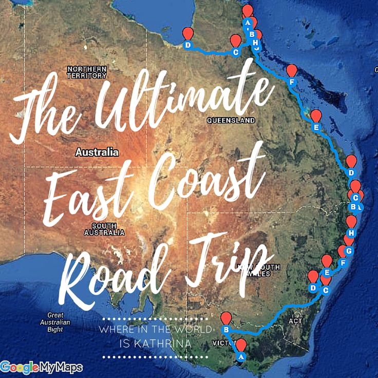 The first part of my East Coast series. Melbourne to Cairns. The Road to Sydney