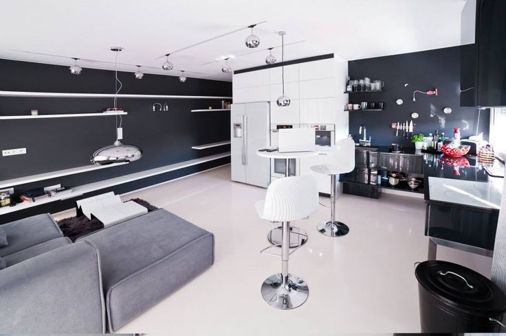 Najlepszy projekt mieszkania typu studio (kawalerka). Projekt: Malko Projekty Wnętrz