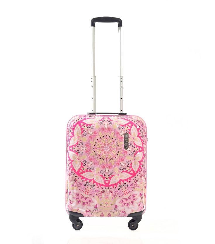 Epic Crate kuffert, pink, 4 hjul 2400kr for 2