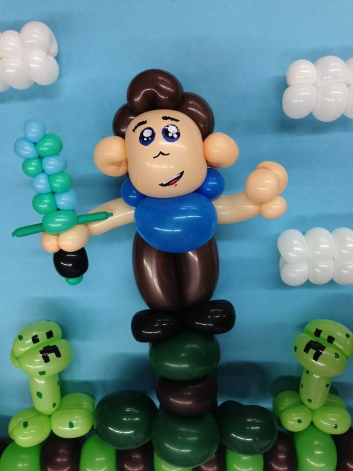 Twisted balloon Minecraft, Youtuber, Benipowa