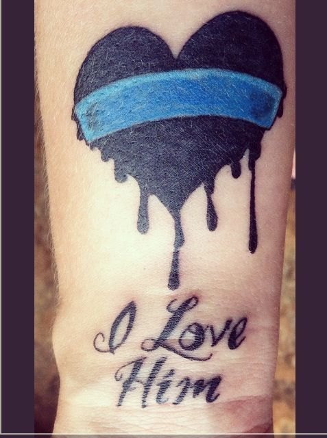 41 best images about law enforcement tattoos on pinterest for New tattoo laws