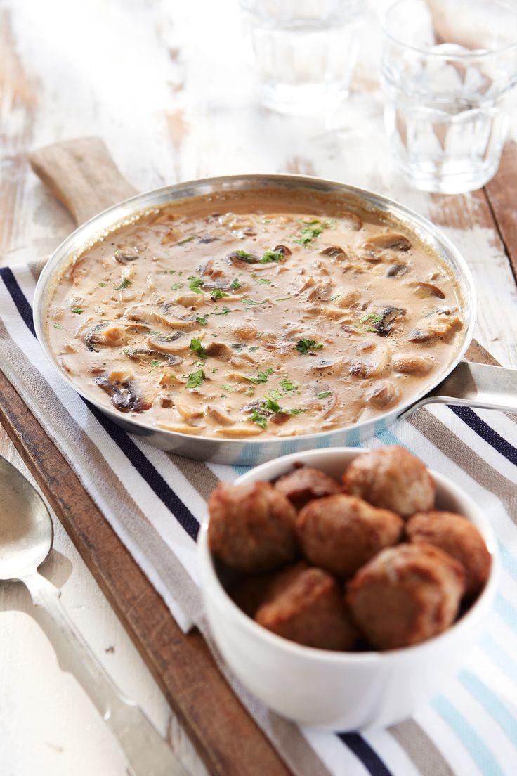 Helppo herkkusienikastike   K-ruoka  #sienet