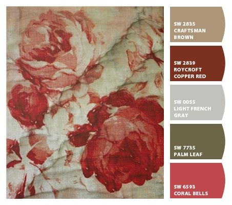 French Country Fabric & Paint | Sherwin Williams