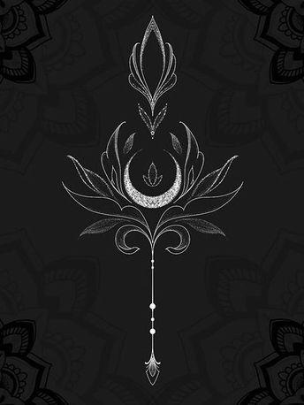 Sage, art nouveau style, crescent moon, metal/wire… – #ART #corenne #crescent