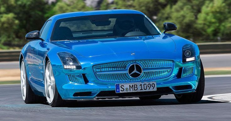Mercedes-AMG Confirms It Will Roll Out An All-Electric Model #AMG #Electric_Vehicles