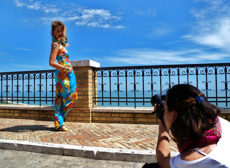 Shooting In colors we trust collection by Giovanna Nicolai  Ph: Virginia Di Mauro  MUA: Pamela Loyola  Backstage ph: Rebecca Concetti