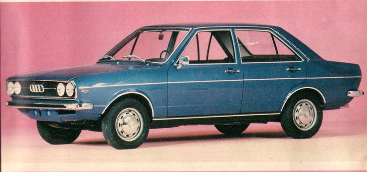 1975 Audi 80 GL. Mom's car again. Dad was driving big Chevs by now, all company sponsored.