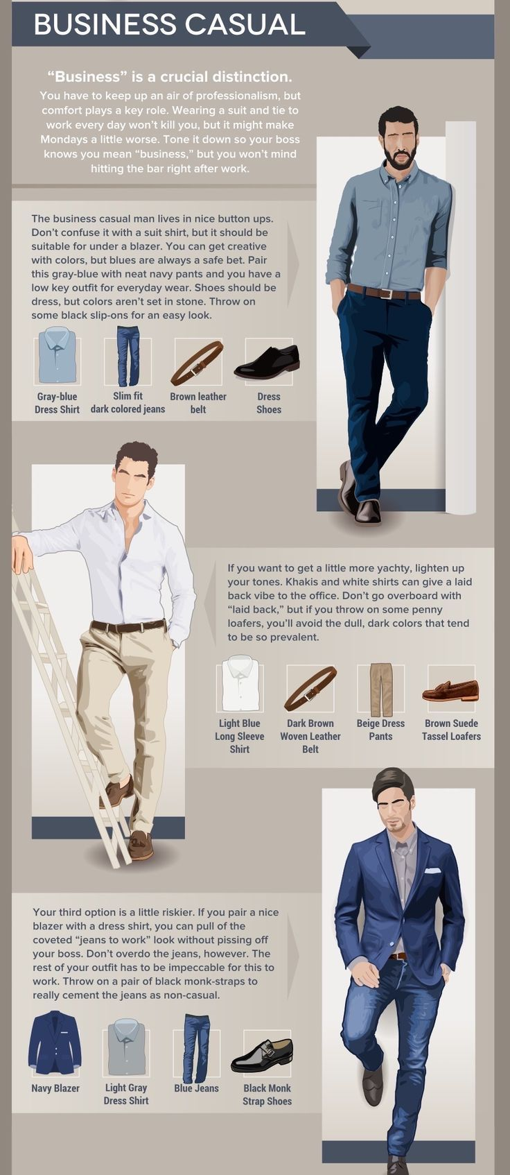 Business Casual Style Guide für Männer: Individuelle Hemden