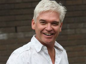 Phillip Schofield voted womens sexiest silver fox.