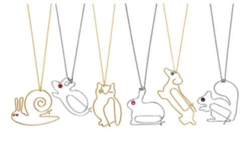 Paperclip jewelry. Brilliant!