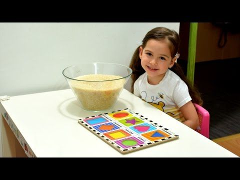 Learn Shapes and Colors - hide and seek fun montessori activities kids play games teaching methods