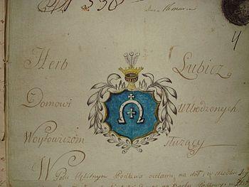 Lubicz (herb szlachecki) – Wikipedia, wolna encyklopedia