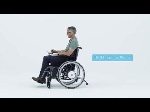 Rollstuhl Zusatzantrieb e-fix - elektrischer Antrieb für Rollstühle