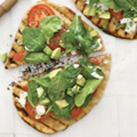 West Coast Grilled Vegetable Pizza Recipe