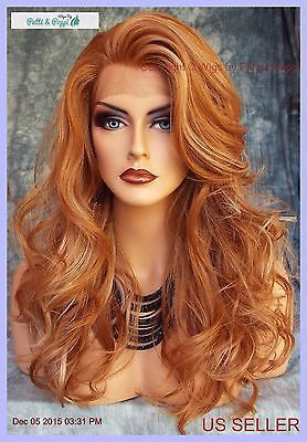Feb 17, 2020 - Lace-Front-Heat-Friendly-Wig-soft-Layered-Curls-F27-613-STRAWBERRY-BLOND-216