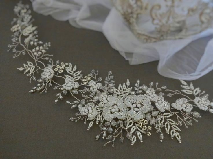 jewelsInspired by nature. Handmade bridalwhite tone head piece ❤ Made of Tohoand Czech glassbeads, Preciosa seed beads,wired with silver jewelry wire. #weddingheadpiece#weddingaccessories#wedding #bridalheadpiece #bridaltiara #bridalaccessories #weddingtiara #jewellery #jewelry #weddingjewelry #tiara #bridalhairvine #bridal #bridalhair #toho #beading #latviandesign #latviandesigner #handmade #handmadejewellery#beadingjewellery #czechglassbeads #accessories #whitewedding #flower…