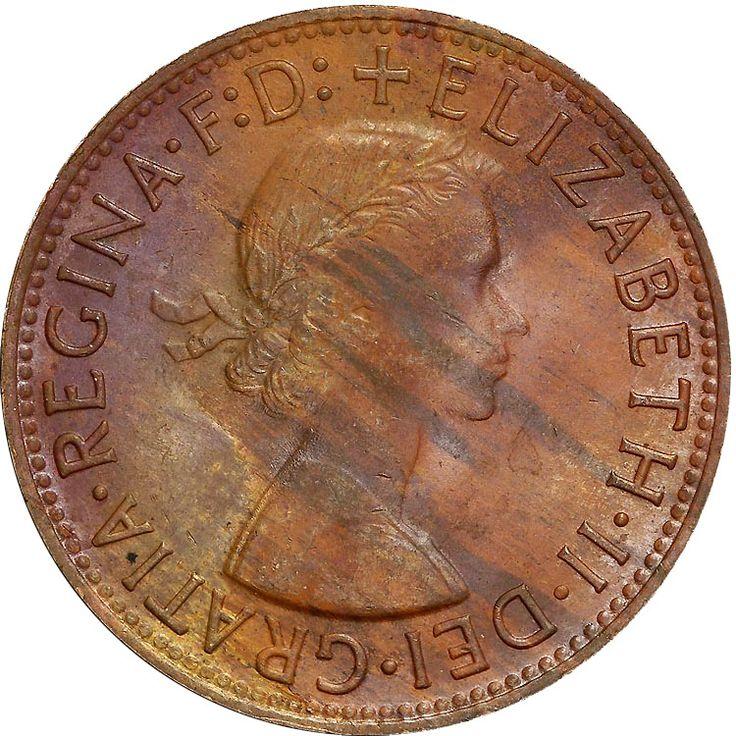 Australia Penny KM# 56 1955-1964
