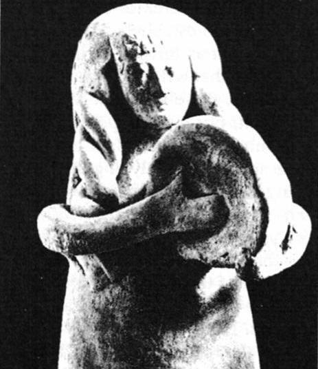 Ancient Cretan Goddess Rhea and the Drum