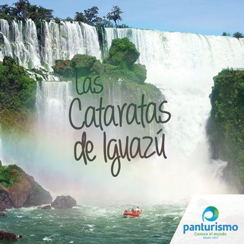 Cataratas del Iguazú, es una de las siete maravillas naturales del mundo, ubicadas en la provincia de Misiones.