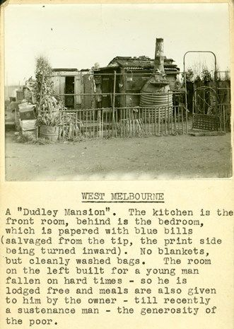 """West Melbourne. One of the """"Dudley Mansions."""""""