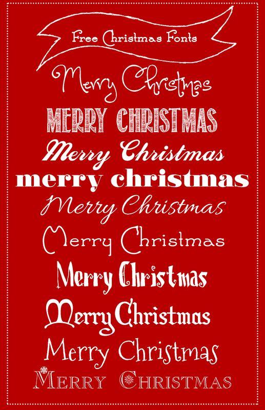 christmas fonts christmas font generator - 517×800