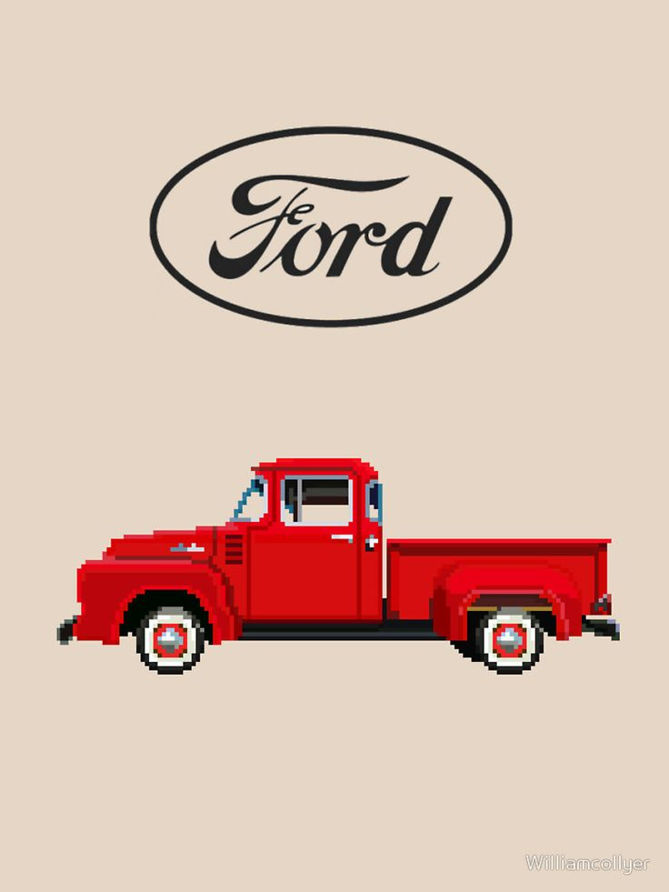 1956 Ford F150 Truck Design By William Collyer