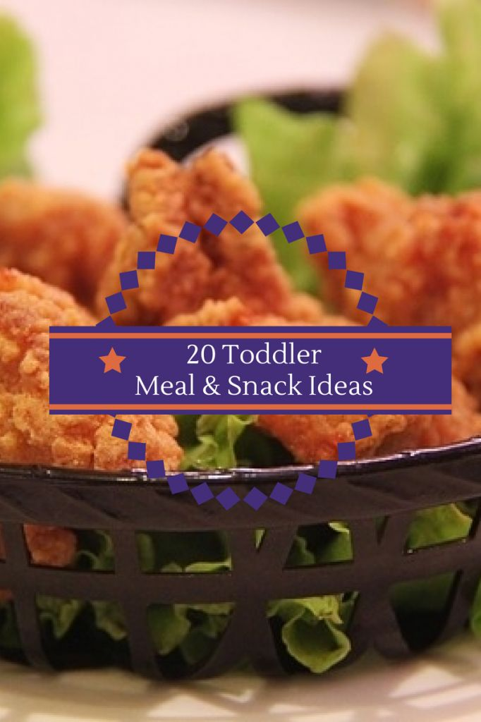 20 Toddler Meal and Snack Ideas