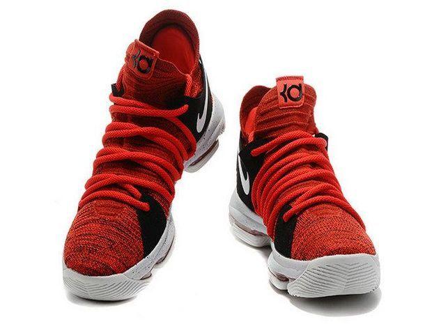 sale retailer 0becc 9ff8e Nike KD 10 University Red University Red Pure Platinum Black 897816-600