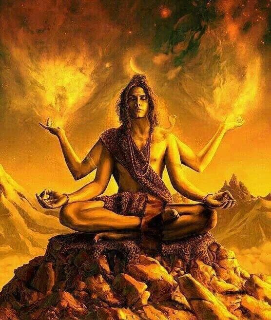 Lord Shiva in Transcendal Meditation