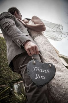 """""""thank You"""" Sign $30. Good angle for wedding pictures"""