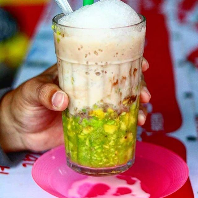 Resep Es Pokat Kocok Yang Segar Cocok Untuk Jualan Iniresep Com Resep Resep Resep Makanan Penutup Resep Minuman
