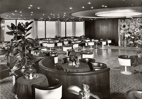 DDR Ansichtskarte 1974 - Rostock-Warnemünde, Hotel Neptun