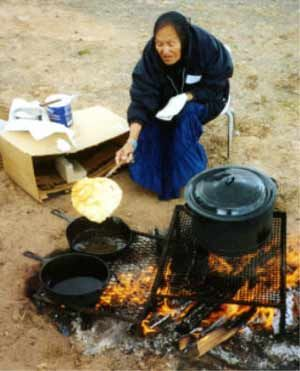 Fry Bread of the indigenous peoples  - scroll to the end of the article and there are links to recipes.
