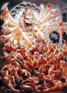 Half man and half lion and full God incarnation: Narasimha Chaturdashi