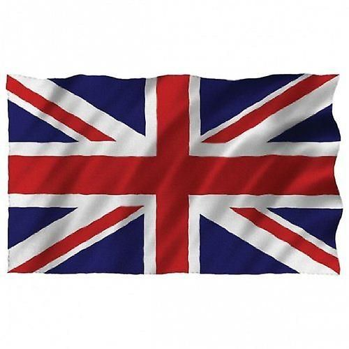 15 x 22 cm Great Britain Waving Flags, Pack of 12