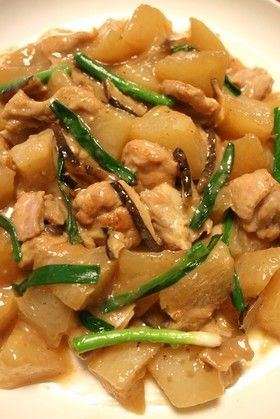 大根がたっぷり食べられる鶏と大根の中華煮
