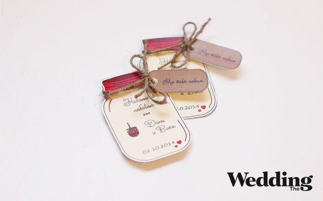 Как сделать магниты — подарки для гостей на свадьбу
