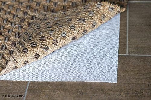 Non Slip Mat for Area Rugs - Indoor Rug Pad - Non-Slip Washable Area Rug Pad - Use on all Floors to Prevent Injury - Trim to fit any Size - 8' x 10'