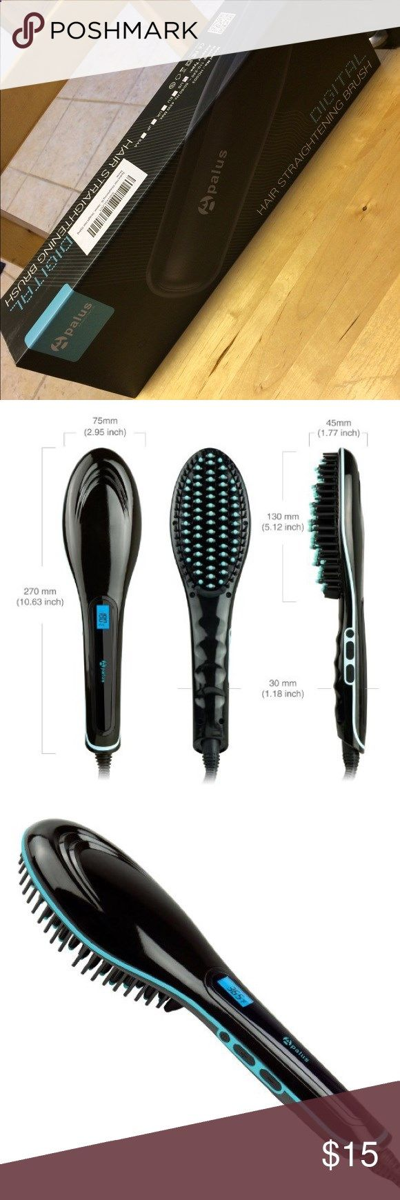 Apalus Digital Hair Straightening Brush Brand new never opened. Fast natural styling, less direct heat on your hair to save from damage! Other