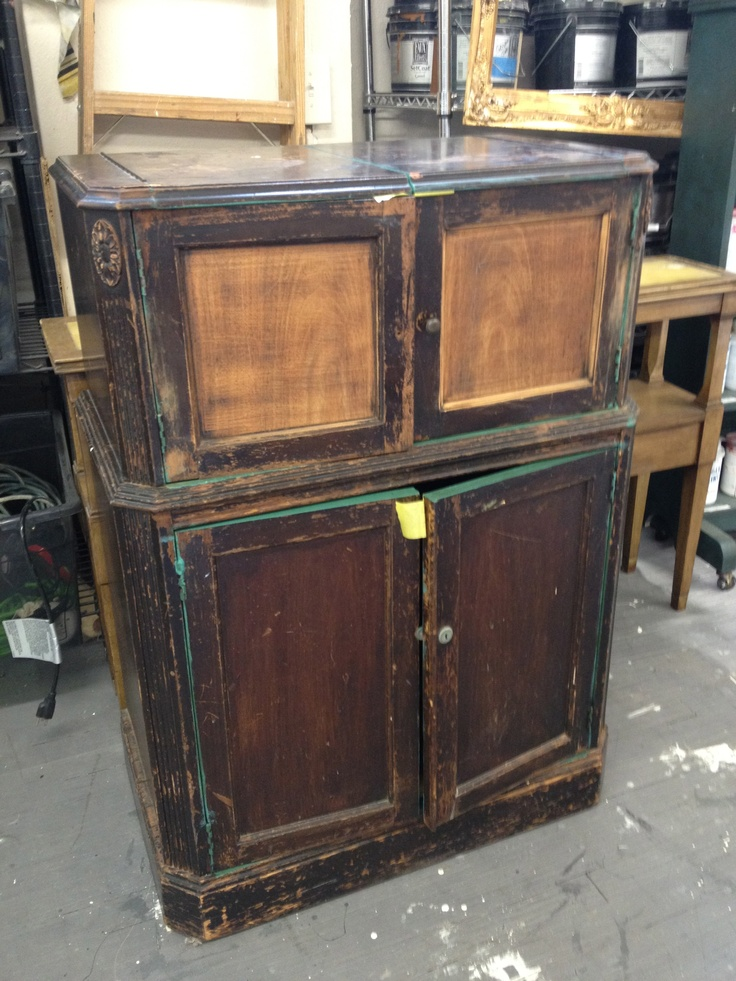 1930 S Bar Cabinet Before Dining Room Front Rooms 1930s