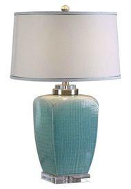 Linnae Light Blue Table Lamp
