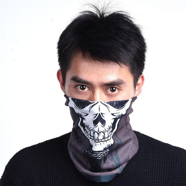 Bicycle Half Face Mask Scarf Neck Outdoor Sport Cycling Bandana Bike Warmer W