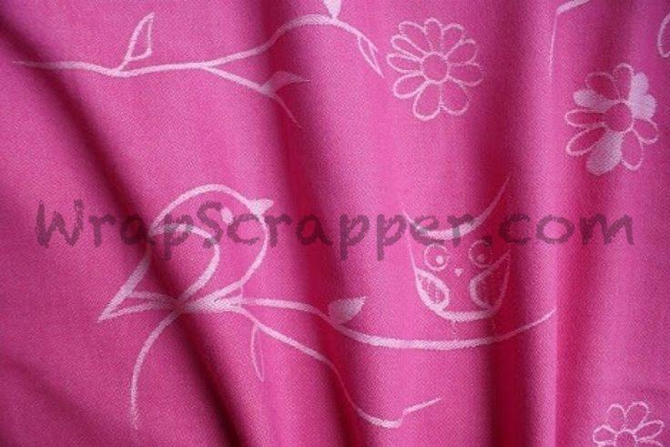 Kokadi Pink Kakadu Wrap Scrap